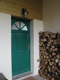 Why not book a cozy Christmas getaway, the wood is all stacked and ready for winter