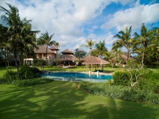 Villa Arika from the Coconut Grove near the Beach