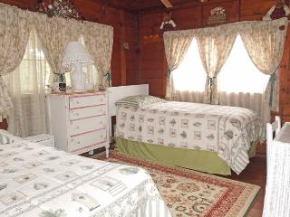 Bedroom with the two twins