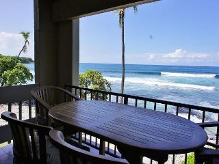 Ocean Front! Watch Dolphins from the lanai at Bali Kai -#201, Kailua-Kona