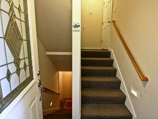 Entry stairs leading into house.