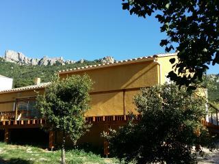 Etape Cathare sous Peyrepertuse en Pays Cathare, Duilhac-sous-Peyrepertuse