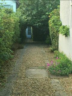 L'entrée principal de la maison