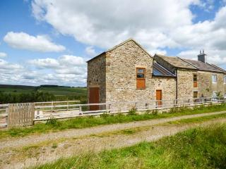 BLACKBURN COTTAGE BARN, semi-detached, off road parking, enclosed patio