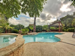 Perched Above Lake Travis with Hillside Views– 4BR, Sleeps 12!, Volente