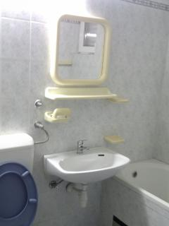 A4(4+4): bathroom with toilet