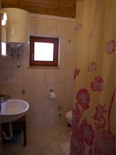 A1(2): bathroom with toilet