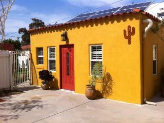 Casita Studio, above Mission Valley, San Diego