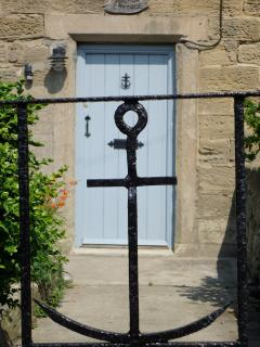 front gate of Anchor Cottage