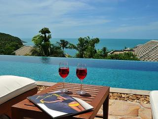 THE RETREAT 5* 4-bed-seaview villa-Koh Samui-WOW!!, Choeng Mon