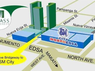 *Sm Mall North Edsa w/ 2 Balconies in Quezon City