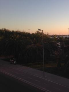 View from Balcony at Dusk