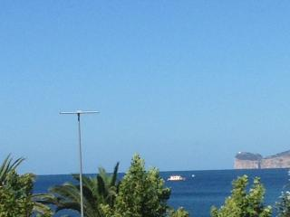 View from Balcony towards Capo Caccia