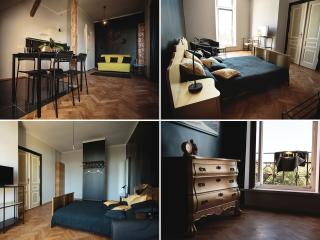 2 ROOM LUXURY BLACK BOUTIQUE APARTMENT, Cracovia