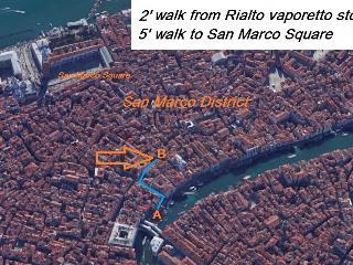 Apartamento en Venecia, cerca de Plaza San Marco., Venise
