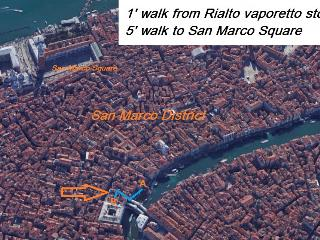 Location Rialto Charme, Loft and Pearl