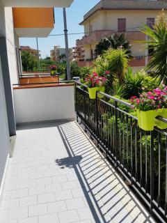 vista balcone lato sud