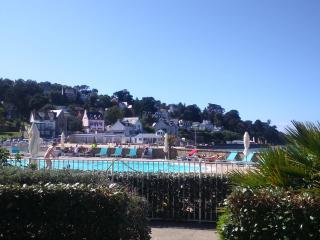 piscine vue du jardin