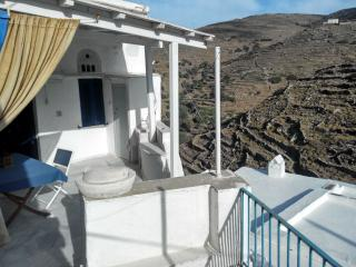 Traditional Cycladic house in an authentic village, Tinos