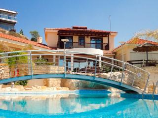 Luxury villa with privacy and panoramic sea views, Peyia