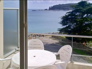 Seaside flat w/ 1 bedroom, terrace, Crozon