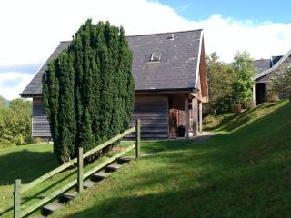 1 bedroom wooden lodges Southside Loch Awe