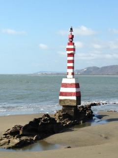 August 21,1929 the lighthouse Faro de la Piedra construction was completed and it still stands today