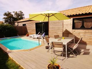 Villa Arméria, piscine chauffée - Port Bourgenay, Vendee