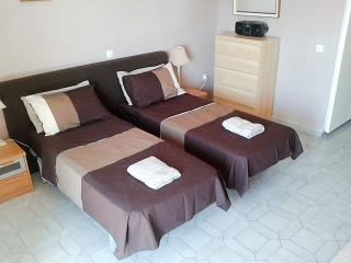 Comfortable beds with deep mattresses & padded headboard