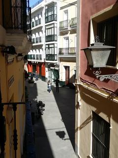 Vista desde Balcón hacia calle Francos