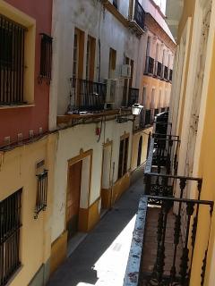 Vista desde Balcón hacia calle Conteros