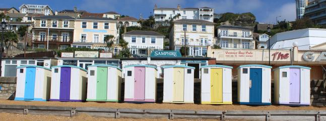 Beach huts - ventnor beach