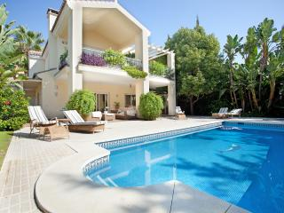 Villa Paraiso on the beach near Marbella, Estepona