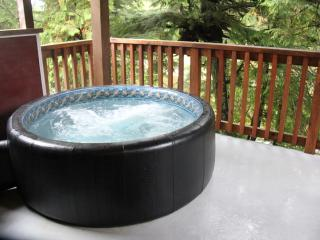West Wind Cabin on Spring Cove ( Hot Tub ), Ucluelet