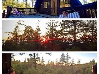 Lazy A Frame Sunset Cabin