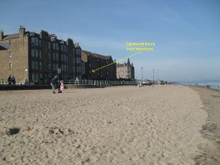 Edinburgh Beach View Apartment ~ 2 bedroom