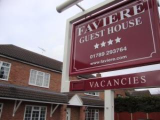 Faviere Guest House, Stratford-upon-Avon