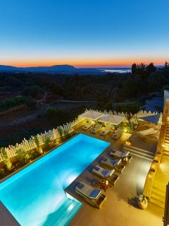 Villa Rouga - Views of the souda bay