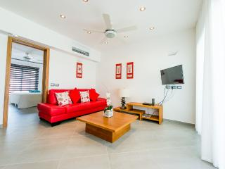 Modern 1-bedroom condo in beachfront complex (D2)