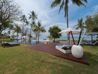 Villa Sapi - Garden and sunloungers