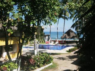 Vista Palmar playa, Sayulita