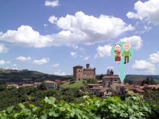 Vicino ad Alba e Barolo, nelle Langhe, Grinzane Cavour