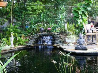 We have a large Koi Pond on the property that can been viewed from the apartment.