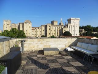 Intra-muros / terrasse vue unique, Avignon
