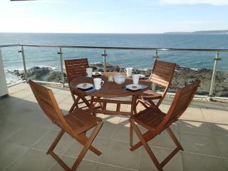 The Penthouse, Nassau Court located in Westward Ho!, Devon