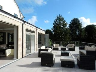 Large terrace with perfect views, garden furniture, and sun all year round