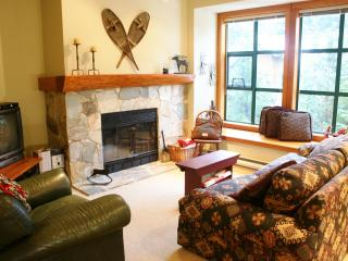 'The Woods' - 2 bedroom w/ hot tub access - steps from Lost Lake!, Whistler