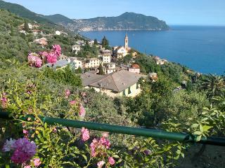 Sosta o vacanza vistamare in villa con charme, Pieve Ligure
