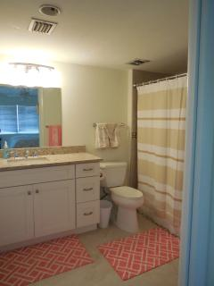 Master Bath ensuite, with new tile shower