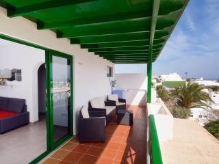 Apartment Belinda mit fantastischen Meerblick, Sat-TV & Wifi am  Playa Grande
